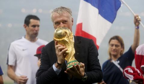 DT Phap vo dich World Cup: Do quai cua Deschamps hinh anh 1