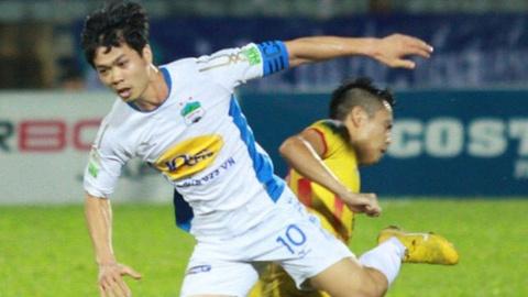 Cong Phuong sut 11 m ghi ban, HAGL thang CLB Nam Dinh 2-0 hinh anh