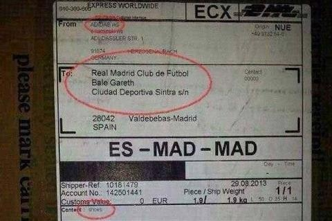 adidas gui giay moi cho Gareth Bale toi... Real hinh anh
