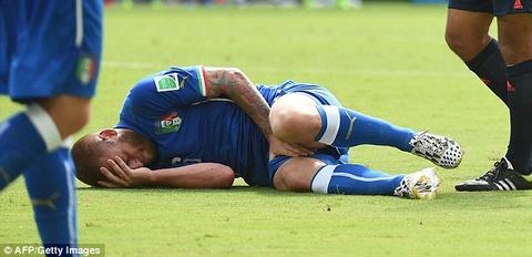 Diem tin 22/6: Italy mat De Rossi o loat tran cuoi hinh anh