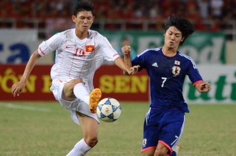 Highlight U19 Viet Nam 0-1 U19 Nhat Ban: Thua dang tiec hinh anh