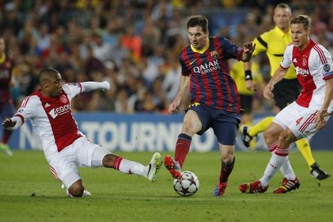 Messi kien tao de Neymar mo ty so cho Barca hinh anh