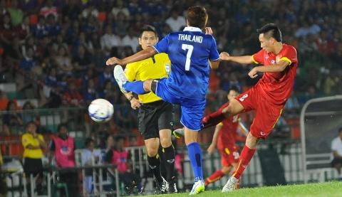 Thai Lan 3-1 Olympic VN: Huu Dung lap sieu pham an ui hinh anh