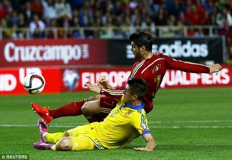Tay Ban Nha nhoc nhan danh bai Ukraina voi ty so 1-0 hinh anh