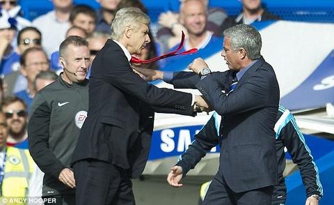 Wenger chua tung thang Mourinho trong 12 lan cham tran hinh anh