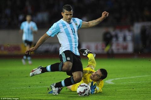 Video tong hop tran dau: Argentina 2-2 Paraguay hinh anh