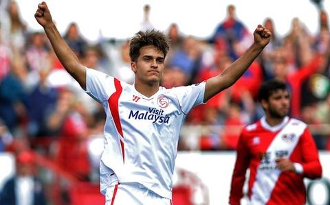 Barca sap don Denis Suarez tu Sevilla hinh anh