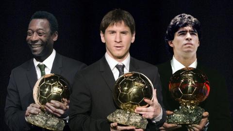 Diem tin 5/8: 'Messi giong Di Stefano, Pele va Maradona' hinh anh