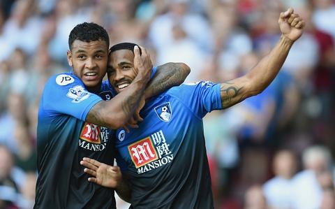 Wilson lap hat-trick giup Bournemouth ha West Ham 4-3 hinh anh