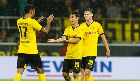 Tong hop tran dau: Borussia Dortmund 3-1 Hertha Berlin hinh anh