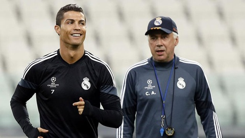 Ancelotti tin Ronaldo gianh vua pha luoi La Liga mua nay hinh anh