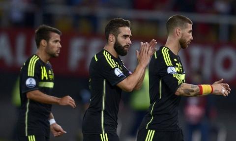 Tong hop tran dau: Macedonia 0-1 Tay Ban Nha hinh anh