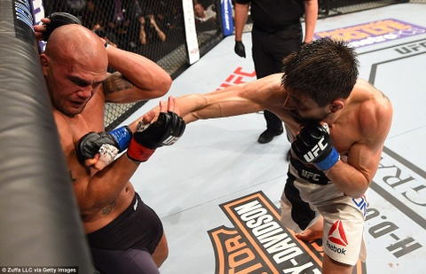 Robbie Lawler bao ve dai vo dich UFC 195 kich tinh hinh anh 4