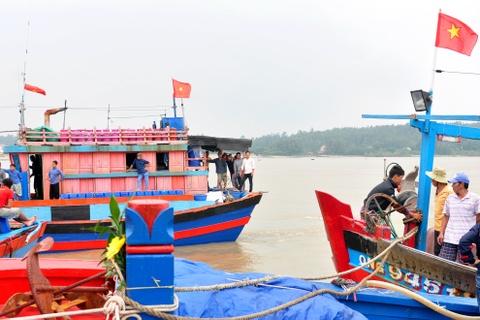 Quang Ngai ban phuong an tim 4 ngu dan mat tich tren bien hinh anh