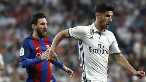 Messi thua xa Marco Asensio ve dieu khoan pha vo hop dong hinh anh
