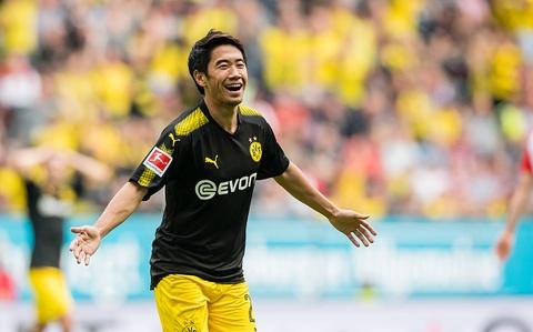 Kagawa, Goretzka va top 5 ban thang dep nhat vong 7 Bundesliga hinh anh