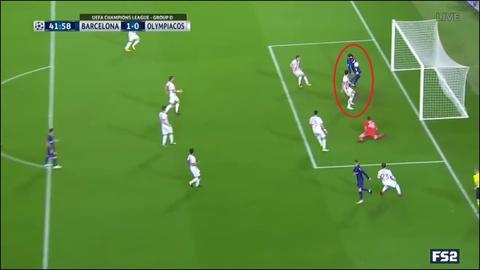 Messi toa sang giup 10 nguoi Barca danh bai Olympiacos hinh anh 5