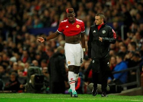Mourinho tuc gian khi noi ve chan thuong cua Pogba hinh anh