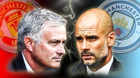 Mourinho cao buoc Guardiola noi doi truoc tran derby hinh anh
