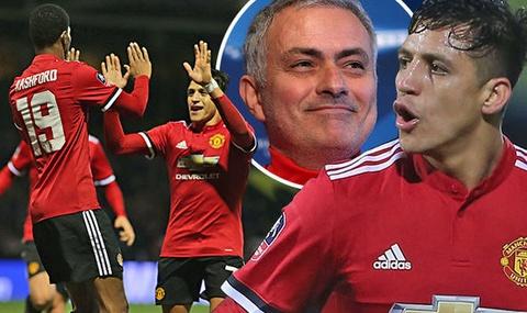 Mourinho ly giai viec Sanchez chua the toa sang tai Old Trafford hinh anh