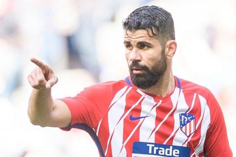 HLV Simeone dung Costa de doa Arsenal truoc ban ket Europa League hinh anh