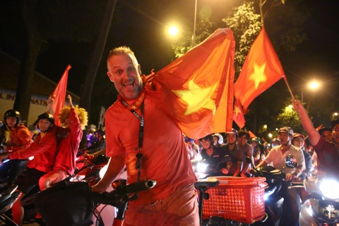 Khoanh khac an tuong dem chien thang lich su cua Olympic Viet Nam hinh anh 6