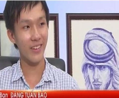 Clip 9X ve MC Hoang Linh bang but bi hinh anh