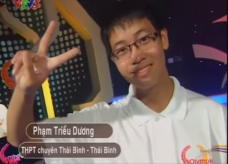 Clip tra loi than toc cua 3 cao thu duong len dinh Olympia hinh anh