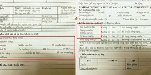 So Y te Ha Noi noi gi ve phieu hoi hoc sinh cap mot kham thai? hinh anh