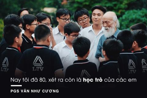 PGS Van Nhu Cuong va nguoi phu nu lang le khoc ngoai hanh lang hinh anh 3