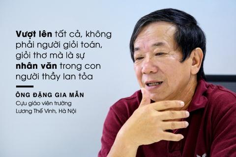 PGS Van Nhu Cuong va nguoi phu nu lang le khoc ngoai hanh lang hinh anh 1
