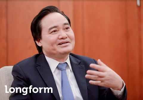 Bo truong Phung Xuan Nha: 'Niem tin xa hoi la nguon luc cua giao duc' hinh anh