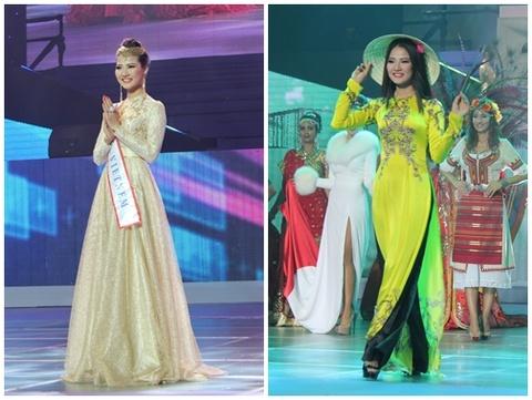 Tran Thi Quynh lot top 6 Hoa hau quy ba the gioi 2013 hinh anh