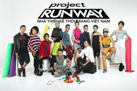 Khoi dong Project Runway 2014 hinh anh