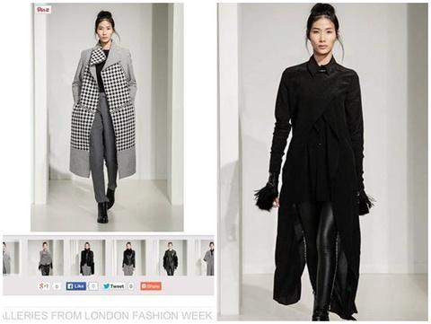 Hoang Thuy xuat hien tren Fashion TV hinh anh