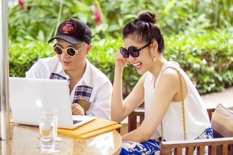 NTK Do Manh Cuong hen ho ban gai cu cua Vinh Thuy hinh anh