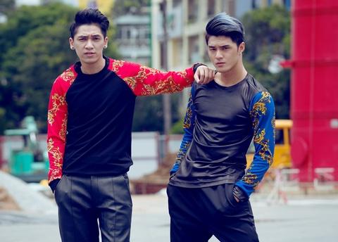 Lam Vinh Hai - Tronie Ngo khoe dang chuan tren pho hinh anh