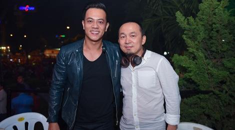 Quoc Trung tham gia dem nhac don nam moi tai Sai Gon hinh anh