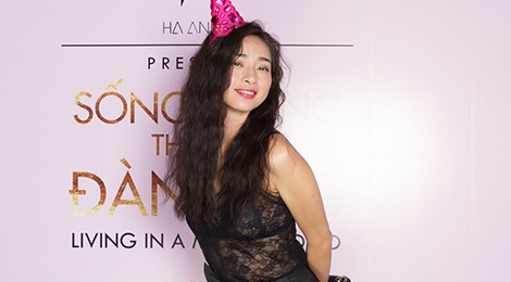 Ly Nha Ky kin dao, Van Ngo goi cam den chuc mung Ha Anh hinh anh