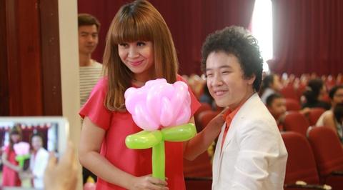 Hoang Anh The Voice Kids hoi ngo Luu Thien Huong hinh anh