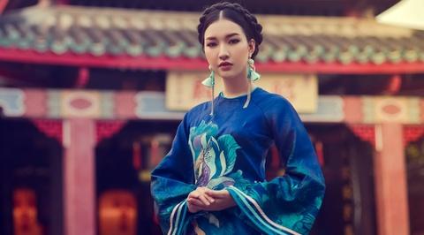 Hoa khoi Du lich Hue 2016 duyen dang ao dai hoa sen Dai noi hinh anh