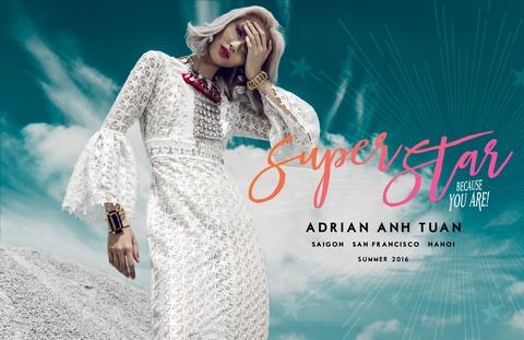 Adrian Anh Tuan lam show thoi trang ky niem 9 nam lam nghe hinh anh 2