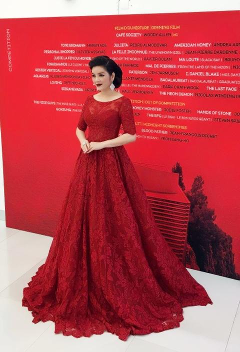Ly Nha Ky kieu sa o Cannes hinh anh 6