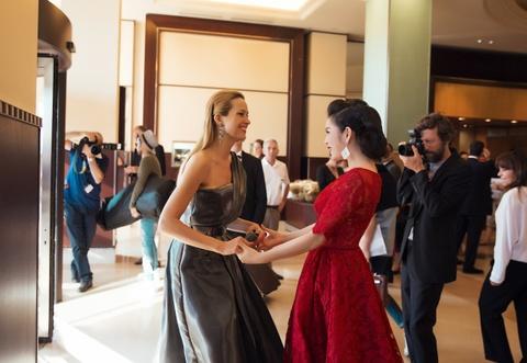 Ly Nha Ky kieu sa o Cannes hinh anh 3