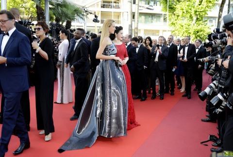 Ly Nha Ky kieu sa o Cannes hinh anh 4