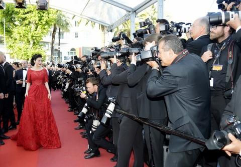 Ly Nha Ky kieu sa o Cannes hinh anh 5