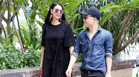 Ha Kieu Anh lam MC show Do Manh Cuong hinh anh