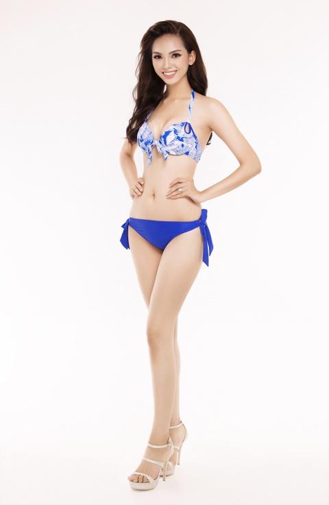 Nguoi dep Hoa hau Viet Nam 2016 tao dang voi bikini hinh anh 21