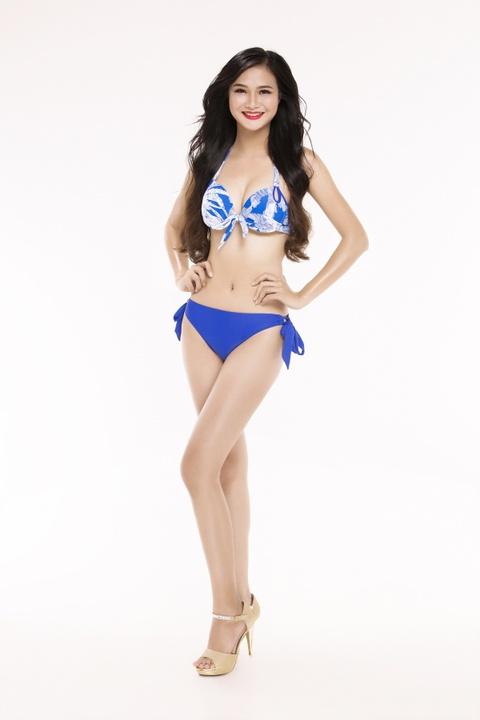 Nguoi dep Hoa hau Viet Nam 2016 tao dang voi bikini hinh anh 22