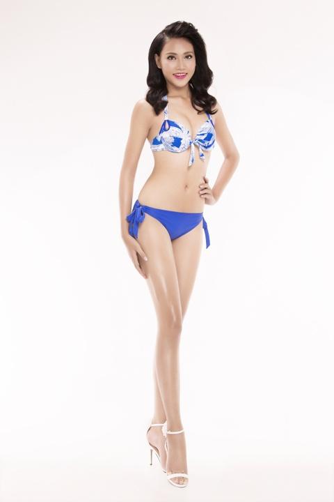 Nguoi dep Hoa hau Viet Nam 2016 tao dang voi bikini hinh anh 24